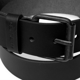 Cinturon Carhartt Script Belt  Leather Black Black