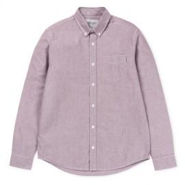 Camisa Carhartt Button Down LS Pocket Shirt Amarone