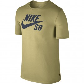Camiseta Nike SB Logo Tee Lemon Wash/ Thunder Blue