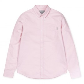 Camisa Carhartt Button Down Pocket Shirt LS Soft Rose