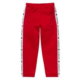 Pantalon Carhartt Goodwin Track Pant Cardinal White