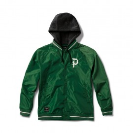 Cazadora Primitive Two Fer Varsity Forest Green