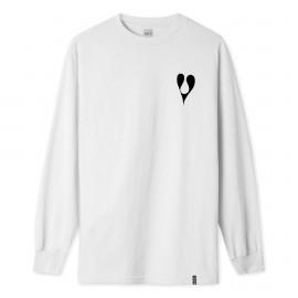 Camiseta HUF Phil Frost L/S Tee White