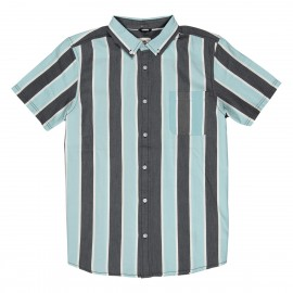 Camisa Element Icon Stripes SS Grey Stripe