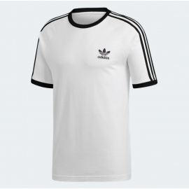 Camiseta Adidas 3-Stripes Tee White