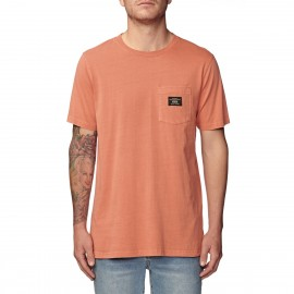 Camiseta Globe Base Pocket Tee Washed Sunbumt