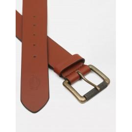 Cinturon Dickies South Shore Leather Belt Brown