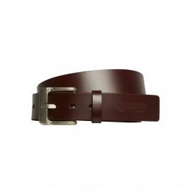 Cinturon Volcom The Classic Leather Belt Brown