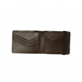 Cartera Volcom Halfstone Leather 2F Brown