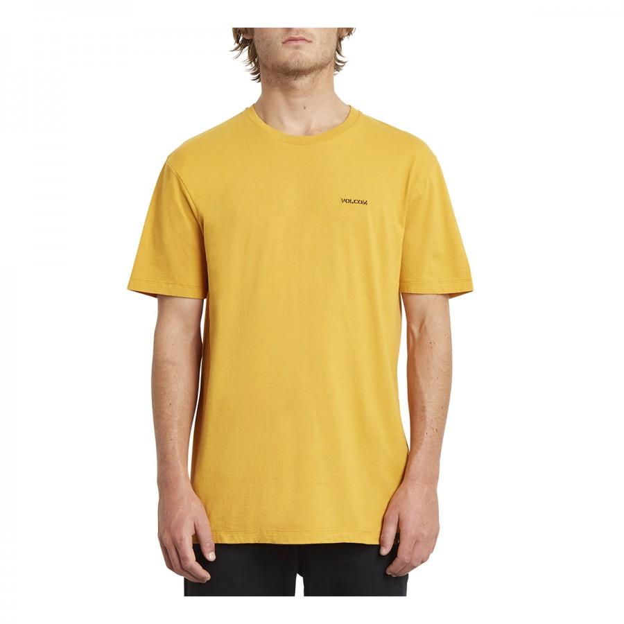 Camiseta Volcom Crass Blanks LTW SS Inca Gold