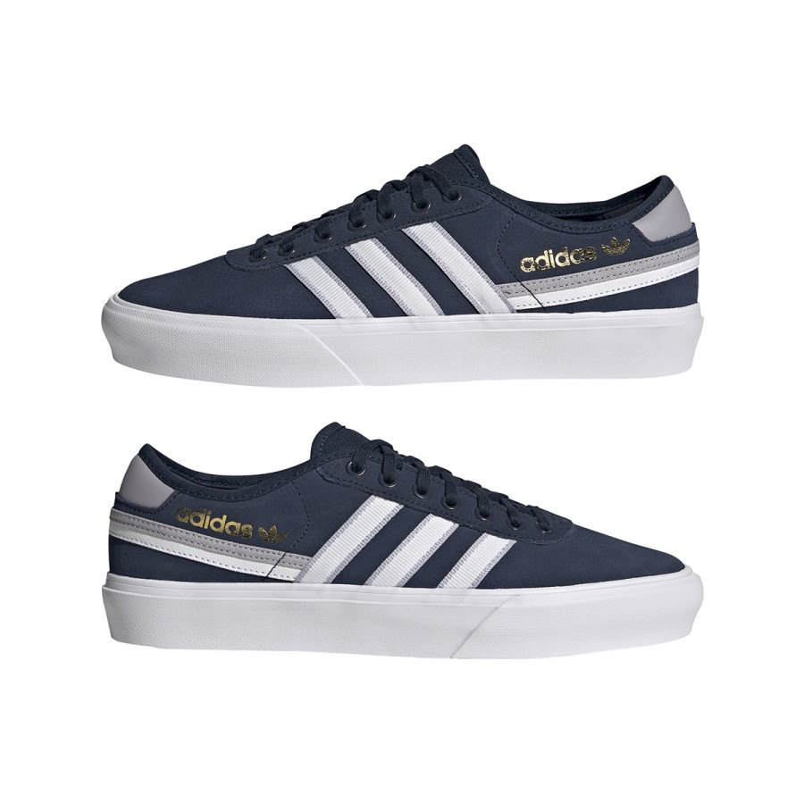 Zapatillas Adidas Delpala Premiere Navy White Grey
