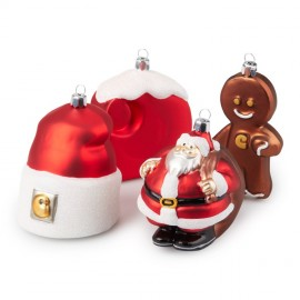 Adornos Carhartt Christmas Ornaments Set 4 Multicolor