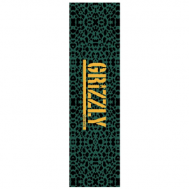 Lija Skate Grizzly Green Cheetah Stamp Griptape