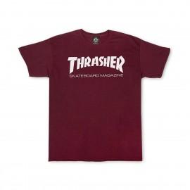 Camiseta Thrasher Skate Mag Tee Maroon