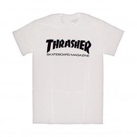 Camiseta Thrasher Skate Mag Tee White